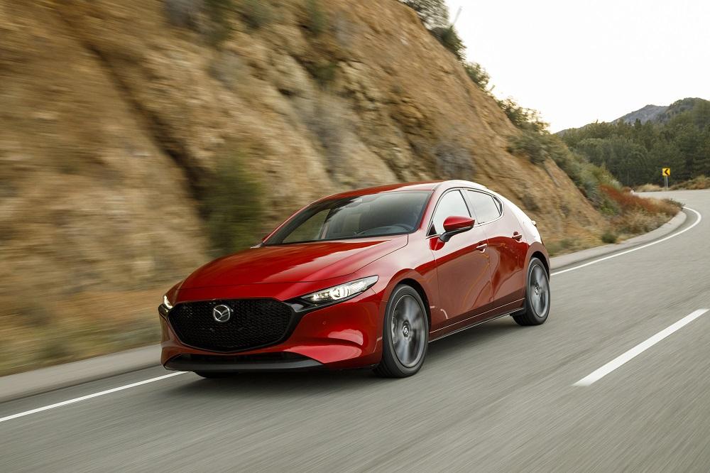 2019 Mazda3 earned IIHS Top Safety Pick award