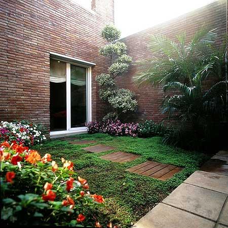 Decorando Dormitorios Lindos Jardines Pequenos En Casa - Pequeos-jardines-en-casa