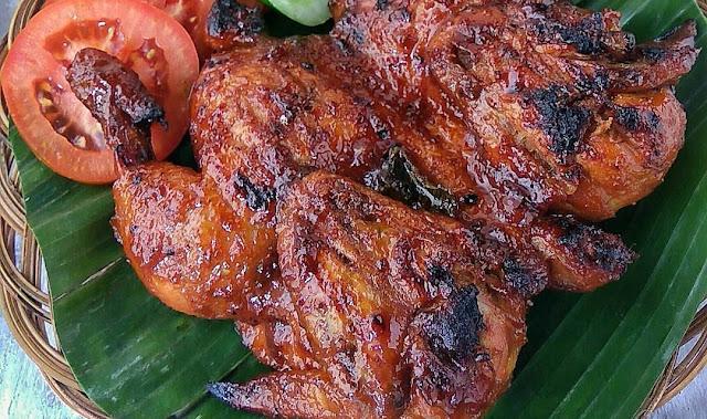 resep ayam bakar bacem, ayam bakar bacem, ayam bacem, bakar bacem