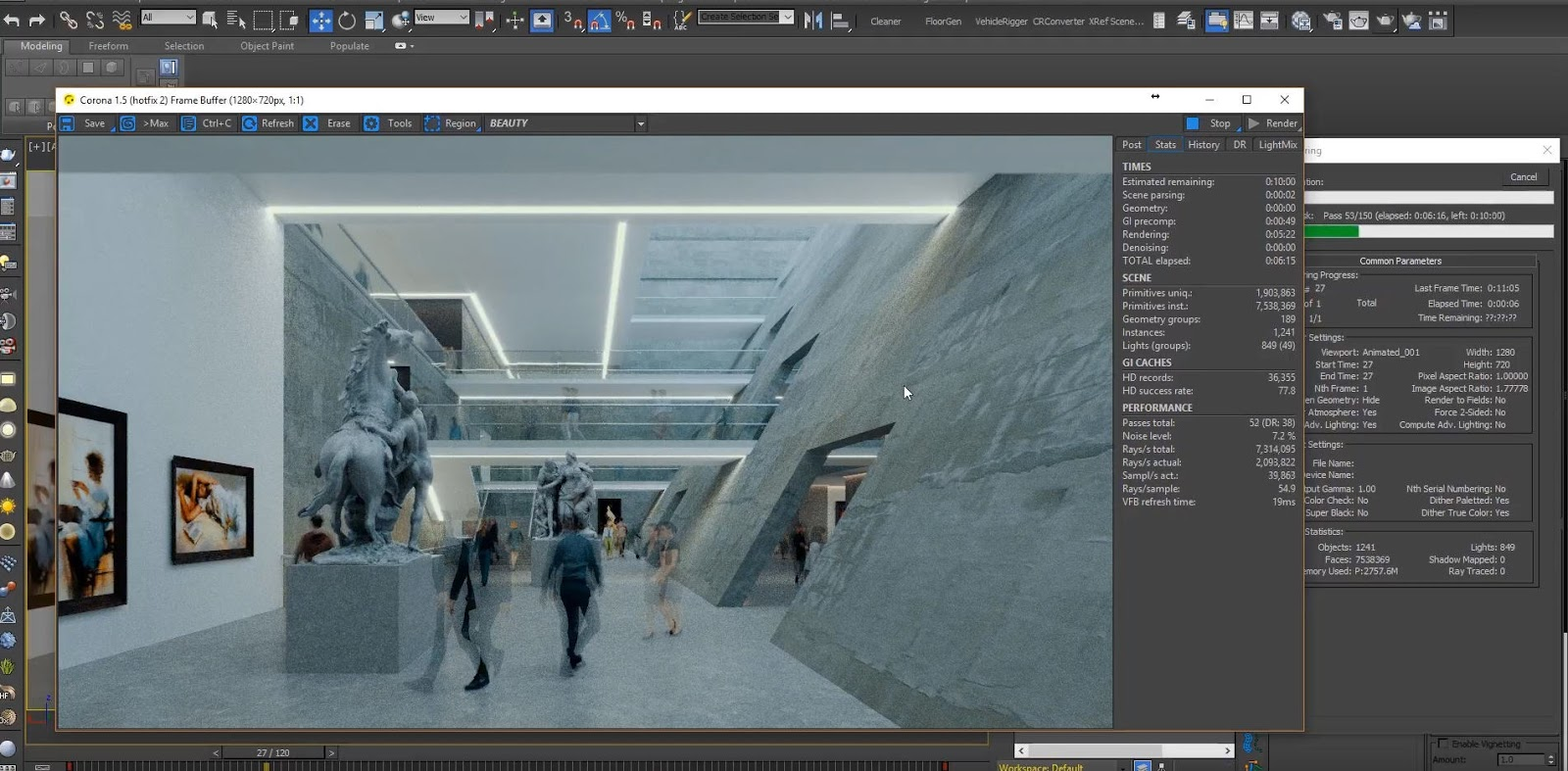 How to create Time-lapse Effects for Archviz Animation   CG TUTORIAL