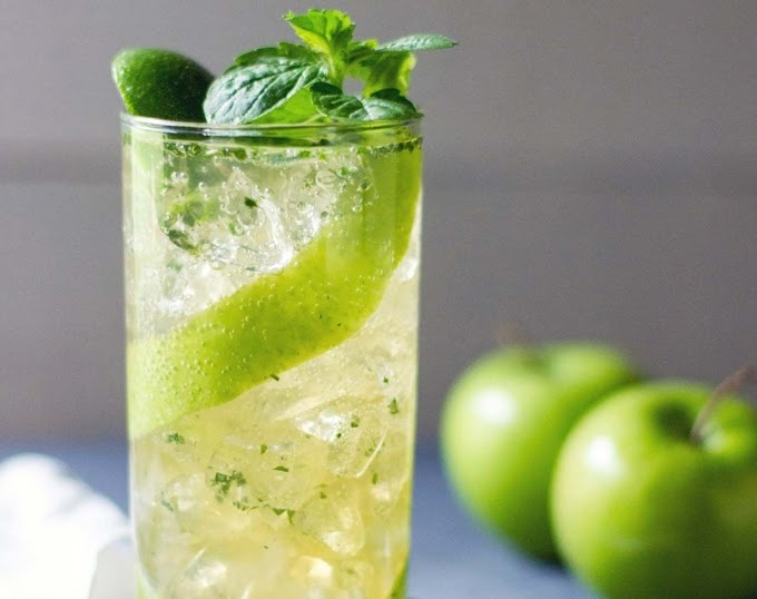 Apple Mojito Cocktail