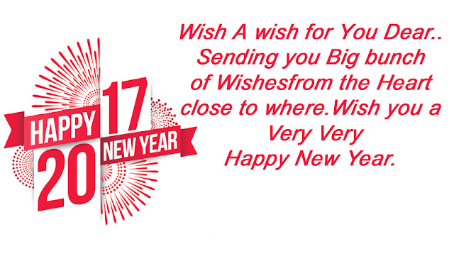 New Year 2017 Wishes Messages SMS Quotes