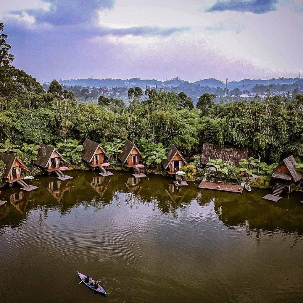 Wisata Dusun Bambu Dengan Konsep Pedesaan Yang Sejuk Dan Segar