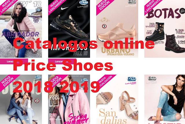 Price shoes Catalogos  2018 2019 completos | calzado  y Ropa