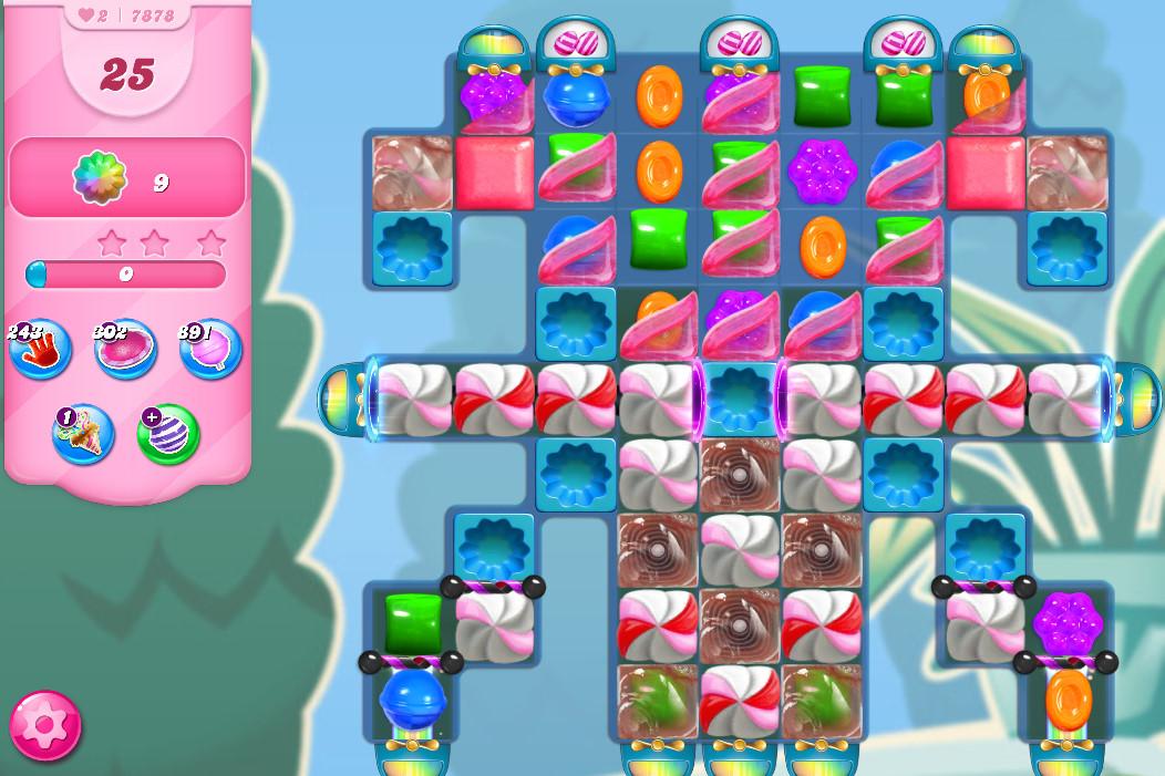 Candy Crush Saga level 7878