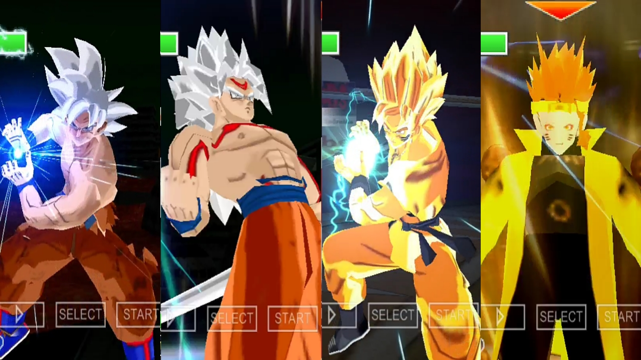 Dragon Ball Super DBZ TTT MOD Goku
