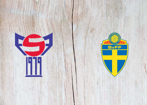 Faroe Islands vs Sweden -Highlights 5 September 2019