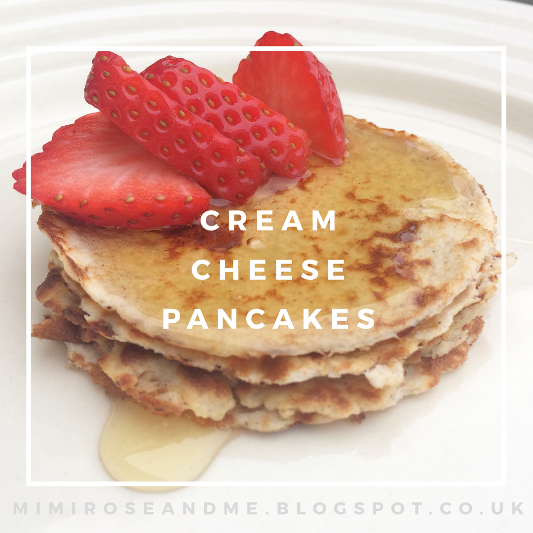 RECIPE | Low Carb, Gluten Free Cream Cheese Pancakes ...