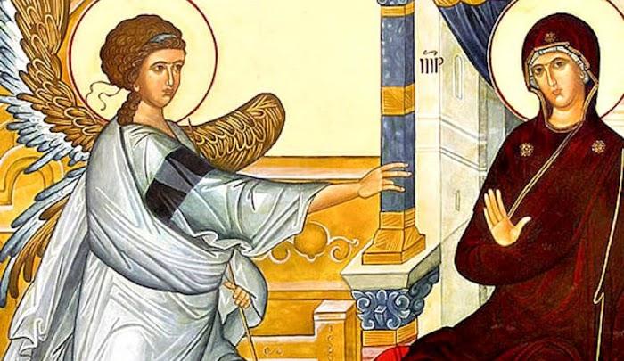 Благовещение Пресвятой Богородицы 7 апреля 2020 года