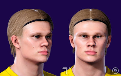 PES 2021 Faces Erling Braut Håland by Tom