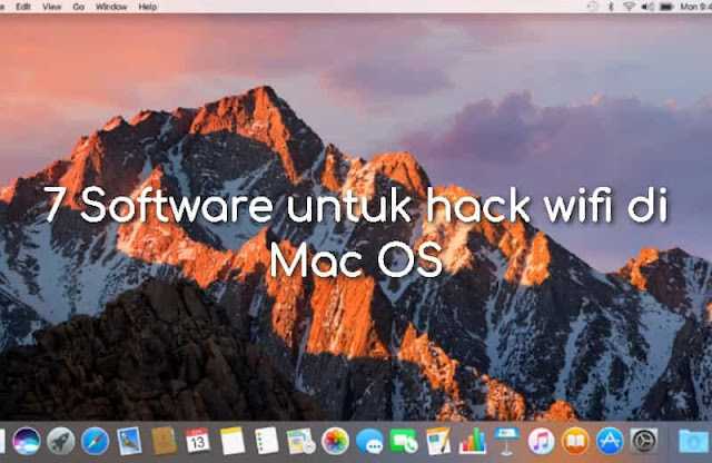 7 Software untuk hack wifi di Mac OS