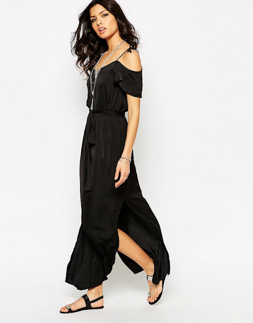 river island black tie shoulder dress, black tie shoulder dress,