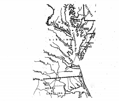 Climbing My Family Tree: 18th C East Coast Chesapeake Ferry Route PA to NC