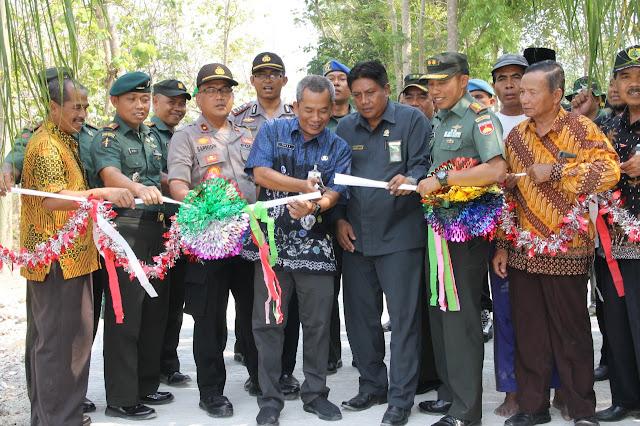 TMMD Sengkuyung Tahap III Desa Srawung Gesi Resmi Di Tutup