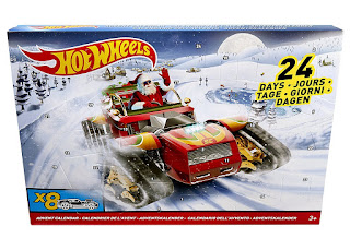 cars advent calendar