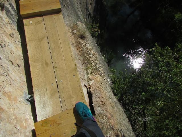 Naturaleza Cuenca por la vía ferrata