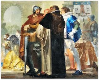 A Glória de São Luiz Gonzaga, Aldo Locatelli, Catedral de Novo Hamburgo (Direita do Mural)