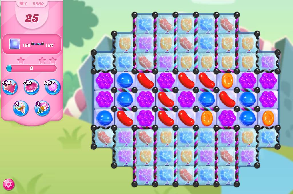 Candy Crush Saga level 10110