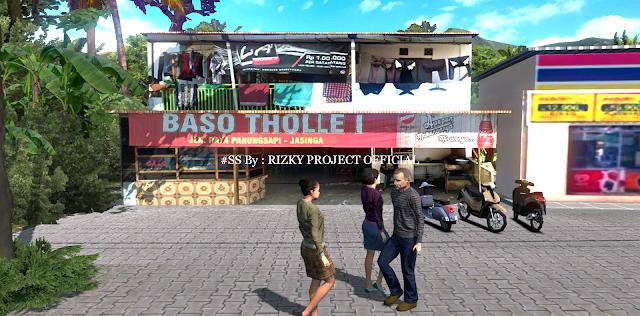 Warung Bakso ETS2 3D Models