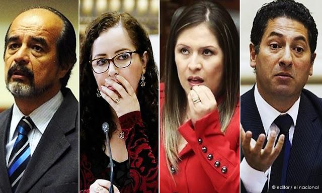 Mulder, Bartra, Vilcatoma, Heresi, los excongresistas quedaron fuera en las elecciones 2020