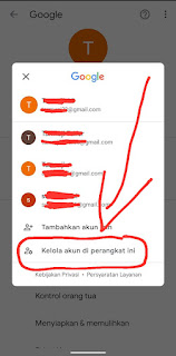 2 Cara Menghapus Salah Satu Akun Gmail di Android