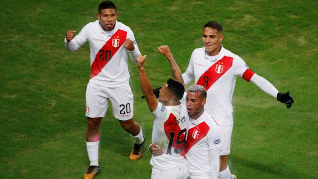 Chile vs Peru  Semi Final -second goal