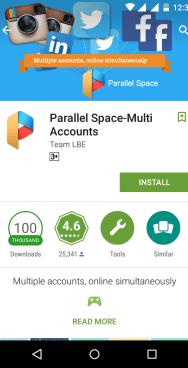 Mudah membuat 2 aplikasi instagram dalam satu Hp android