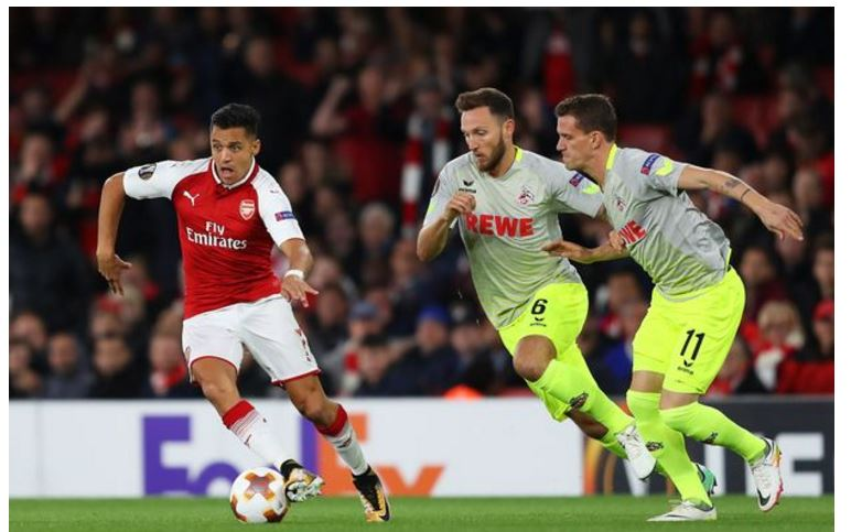 Arsenal 3-1 Cologne:- 5 Things We Learned from the Gunners Europa League opener