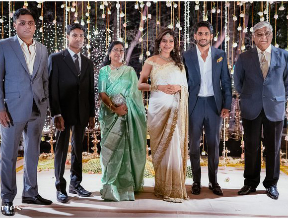 Samantha And Naga Chaitanya Engagement HD Photos