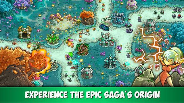 Screenshot Kingdom Rush Origins - Apcoid