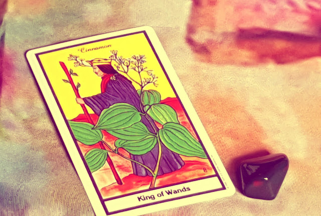 King of Wands - The Herbal Tarot