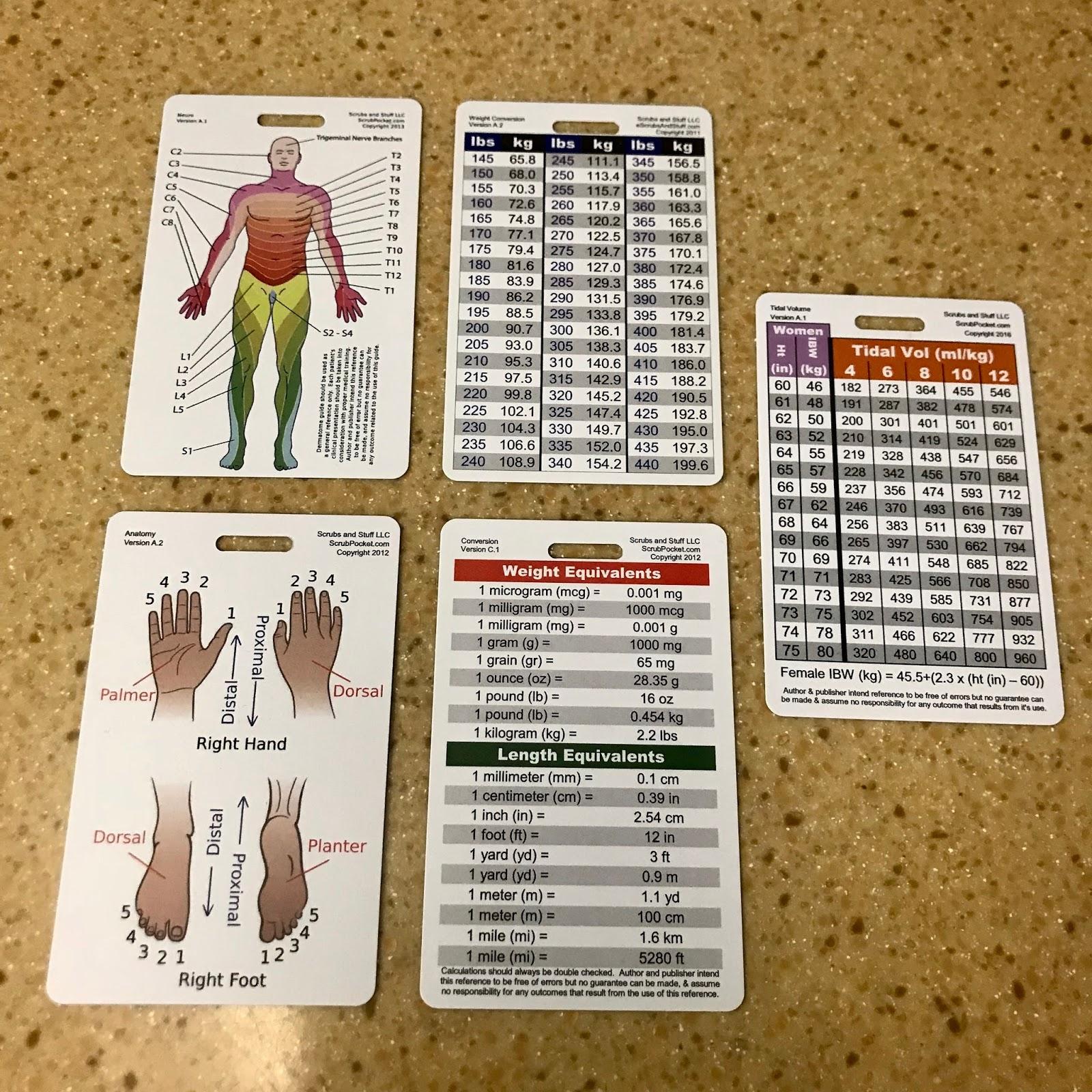 Nurse Nacole Nursing Resources: My Nursing Badge Cards