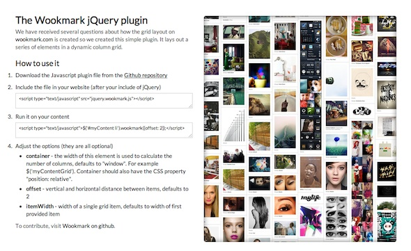 Wookmark-jquery-plugin
