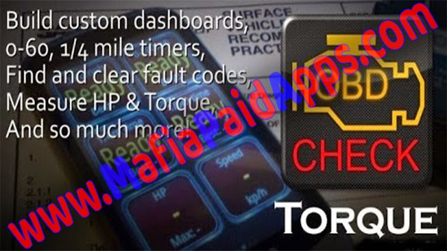 Torque Pro (OBD 2 & Car) v1 8 196 [Patched] Apk for Android