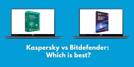 Which is better, Bitdefender or Kaspersky?