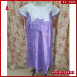 MOM257D15 Dress Hamil Purple  Modis Dresshamil Ibu Hamil