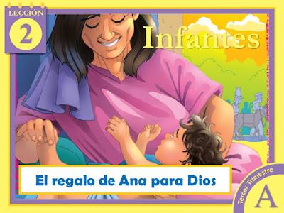 Infantes   Lección 2: El regalo de Ana para Dios   3er Trimestre 2020   Año A