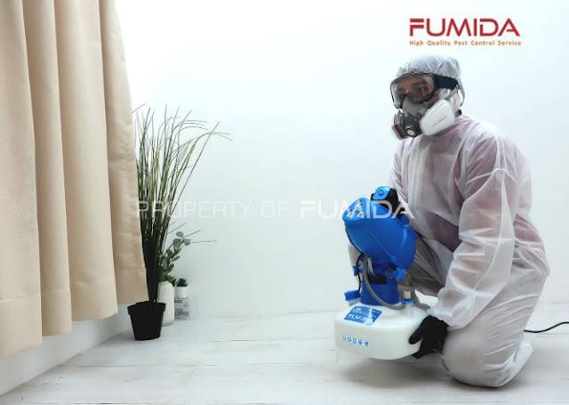 Jasa Penyemprotan Disinfektan Bintaro