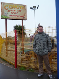 The Congo Adventure Golf course at Brean Leisure Park