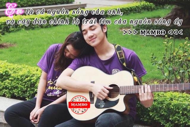 Đàn Guitar Mang Lại Cho Ta Niềm Hạnh Phúc.