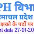 IPH विभाग हिमाचल प्रदेश में जलरक्षको के पदों पर भर्ती IPH Recruitment 2020