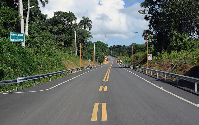 Obras Públicas concluye reconstrucción de carretera Hato Mayor-Yerba Buena