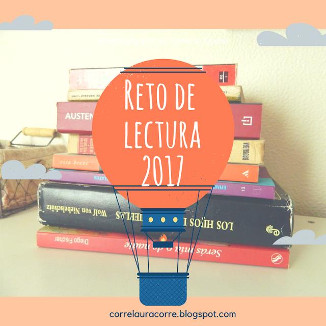 lecturas, libros, retos de lectura, 2017