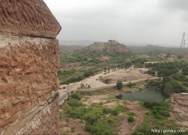 aerial view from mehrangarh fort jodhpur
