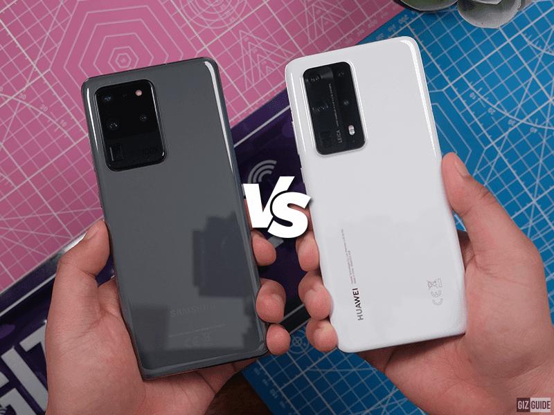 Huawei P40 Pro+ vs Samsung Galaxy S20 Ultra Specs Comparison