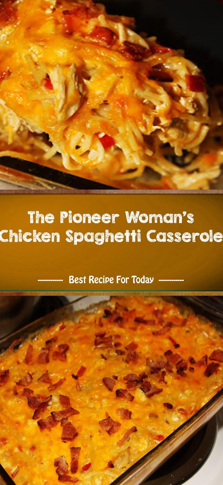 The Pioneer Woman's Chicken Spaghetti Casserole   Healthyrecipes-04