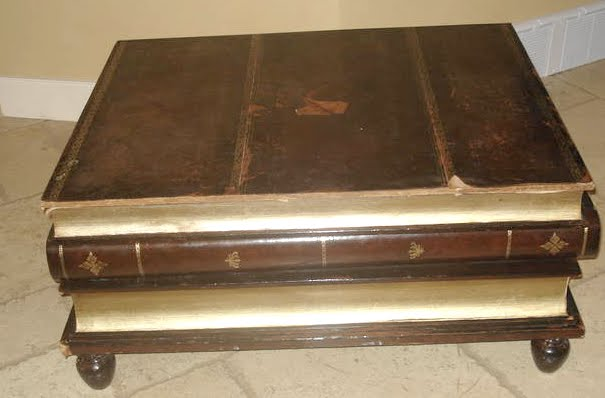 So When I Did My Daily Cruise Through The Kijiji Furniture Ads Last Night Was Entranced By A Large And Well Loved Coffee Table Which Built To Resemble