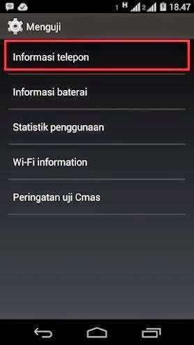 Tidak Bisa Kirim SMS di Android - LangitKomputer.com
