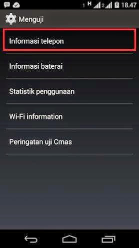Solusi SMS Tidak Terkirim di Android
