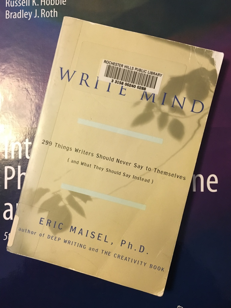 Write Mind, by Eric Maisel